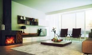 نمای اتاق پذیرایی مدرن