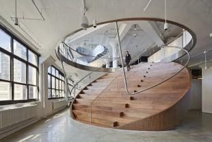 طراحی پله های مدرن یک